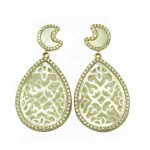 Silver earrings 265504E