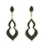Silver earrings SKA1561