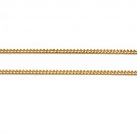 Gold chain K14 length 50cm and weight 5,25gr