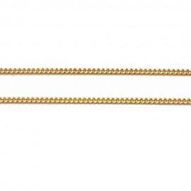 Καδένα χρυσή Κ14 μήκος 50cm και βάρος 5,25gr