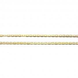 Καδένα χρυσή Κ14 μήκος 44cm και βάρος 2,40gr
