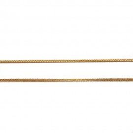Gold chain K14 length 50cm and weight 1,70gr