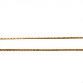 Καδένα χρυσή Κ14 μήκος 50cm και βάρος 1,70gr