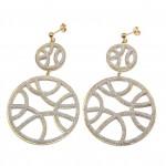 Silver earrings 0405-01