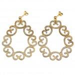Silver earrings 0375