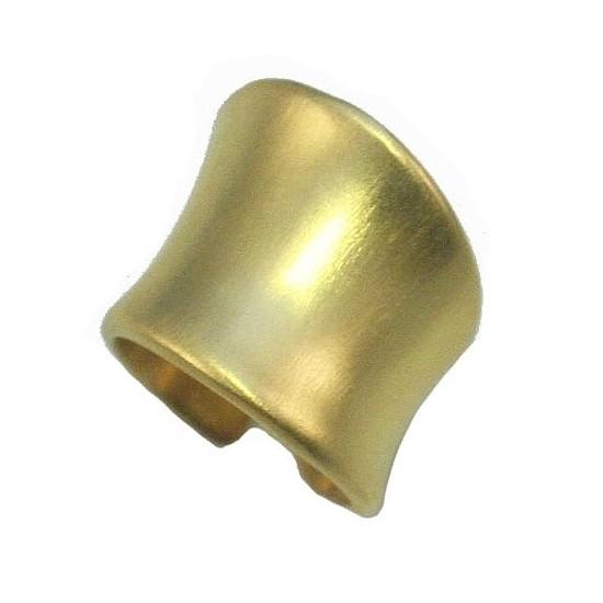 Δαχτυλίδι chevalier ασημένιο επιχρυσωμένο