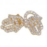 Silver earrings S1808G