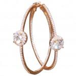 Silver earrings ME40092G