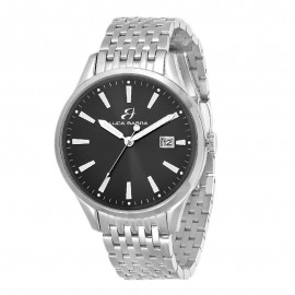 Steel watch with black plate Frame diameter 39 mm Miyota mechanism Water resistance: 3 ATM BU44