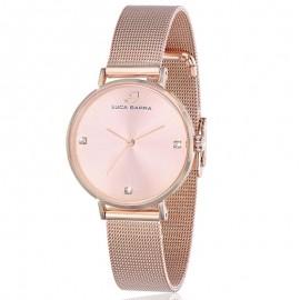 Ρολόι από χάλυβα σε χρώμα ροζ χρυσό BW208