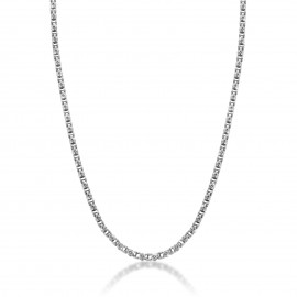 Chain for man made of stainless steel Chain length 50 + 3 cm CL210