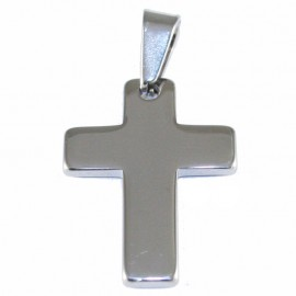 Cross for men made of stainless steel SP1126