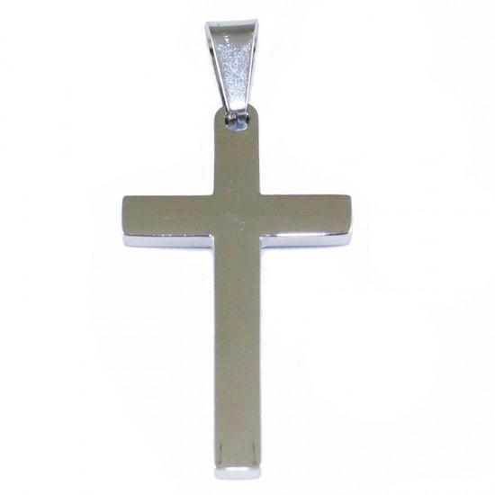 Σταυρός για τον άντρα από ανοξείδωτο ατσάλι SP1148
