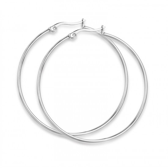 Stainless steel earrings with a diameter of 54mm OK950