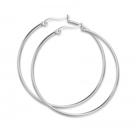 Stainless steel earrings with a diameter of 45mm OK949