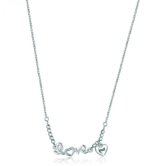 Κολιέ από ανοξείδωτο ατσάλι Love με καρδιά CK1210