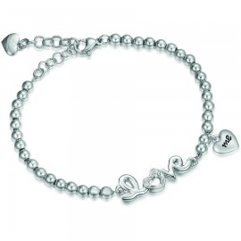Love stainless steel bracelet with heart BK1507