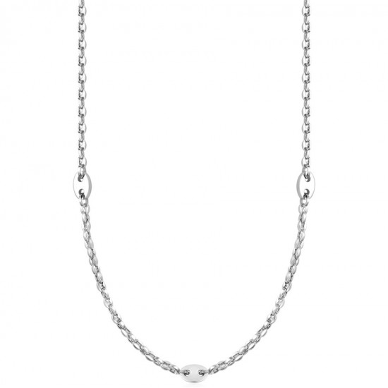 Chain for men for neck stainless steel Chain length 45-50cm CL221