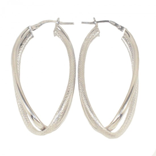Sterling silver earrings rings polished and handcrafted 59521