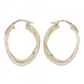 Sterling silver earrings rings polished and handcrafted 47217