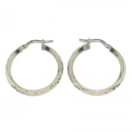 Sterling silver earrings rings polished and handcrafted 31510