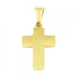 Σταυρός για τον άνδρα από ανοξείδωτο ατσάλι σε χρυσό χρώμα SP1366