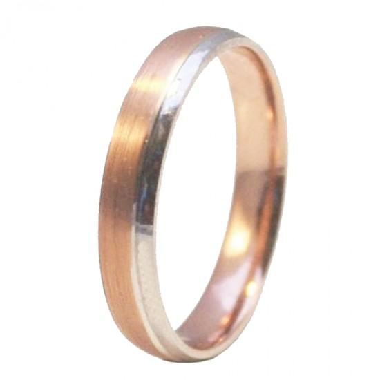 Βέρες γάμου ή αρραβώνα μονόχρωμες δίχρωμες χρυσές ποικιλία επιλογής σε σχέδια και χρώματα