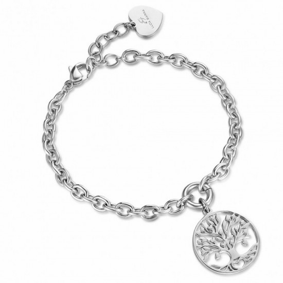 Bracelet with the tree of life in silver color  BK1743