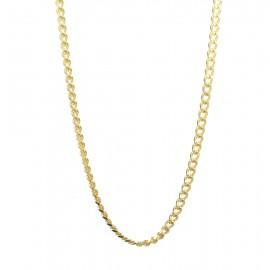 Αλυσίδα για τον άνδρα για τον λαιμό σε χρυσό χρώμα από ανοξείδωτο ατσάλι SC262