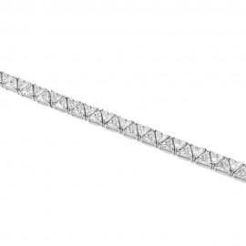 Βραχιόλι ριβιέρα από ασήμι με ΑΑΑ ποιότητας ευρωπαικά ζιργκόν 1535050