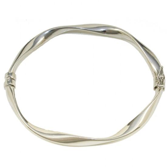 Platinum plated silver bracelet  679238
