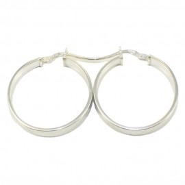 Sterling silver earrings rings polished and platinum  2208