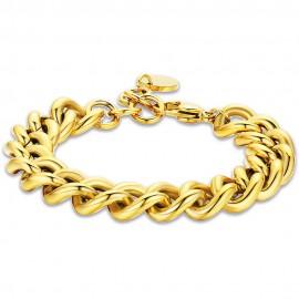 Women's stainless steel bracelet in gold color  BK2068