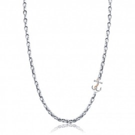 Men's neck chain made of stainless steel with anchor design  CL251