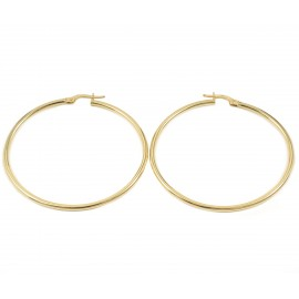 Earrings in gold K14 rings  2315