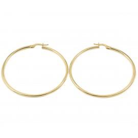 Σκουλαρίκια σε χρυσό Κ14 κρίκοι  2315